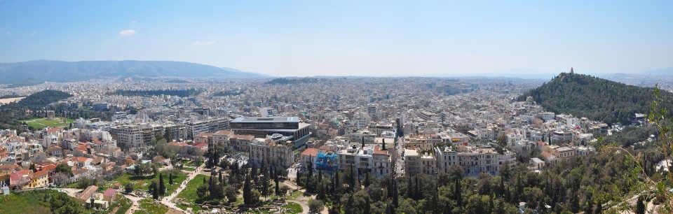 panorama z akropolu